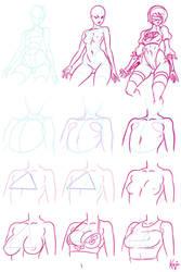 Improvised boobs tutorial by kajinman