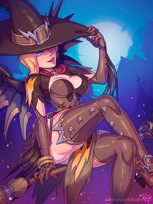 Witch Mercy by kajinman