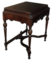 Antique Table - PNG by Walking-Tall
