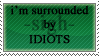Idiots - Stamp by xNalax