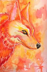 Morning Wolf by Faye-Fox