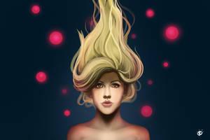 Ellie Goulding by Colam