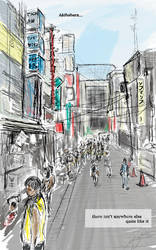 Akihabara by divinewyvern