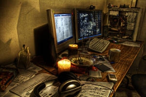 Exp. HDR 1: Desk by dakotapearl