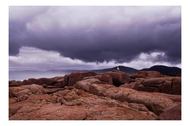 Two Tassie Rocks by dakotapearl