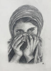 Hidden Girl by azul013