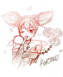 Kuromi Sketch by himachan