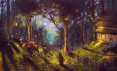 Landscape #18 by Frostwindz