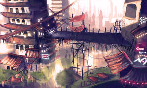 City by Frostwindz