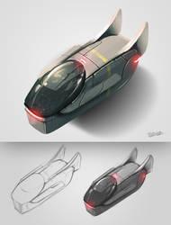Spaceship Concept by Frostwindz