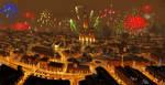 Fireworks - Sketch by Frostwindz