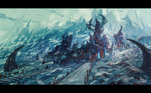 Winter Temple by Frostwindz
