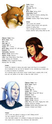 Ashes Character Bios by Flowerlark