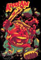 KROOL-AID on black T-shirt by pop-monkey