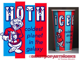 HOTH: COLDEST IN THE GALAXY T-shirt colors by pop-monkey