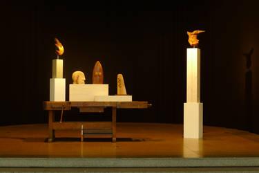 Exhibition at Englische Kirche by gecko-online