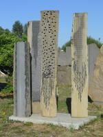 Sculptures of Pinuccio Sciola by gecko-online