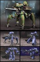 Battle Mechs 2 by Nordenx