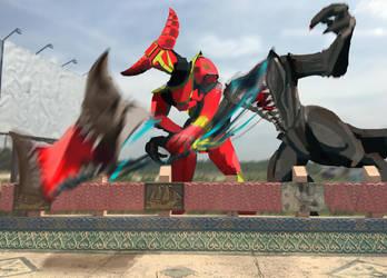 12 June 2048 Raijin attacks by silk501