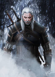 THE WITCHER - Steel for humans by K-yon