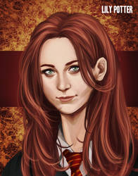 Harry Potter - Younger Lily Potter by K-yon
