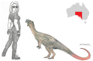 Prehistoric Australia #07: Kakuru by RajaHarimau98