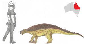 Prehistoric Australia #10: Minmi by RajaHarimau98