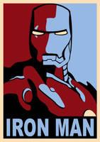 Iron Man 'Hope' Poster by m-schneider