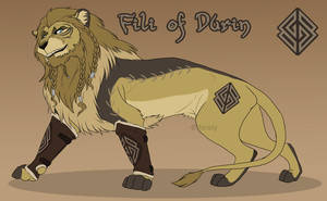 Lion!Fili Re-design by forstyy