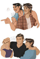 THE OUTSIDERS by forstyy