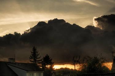 HDR - Cloudy Sunset 2 by GCsabai