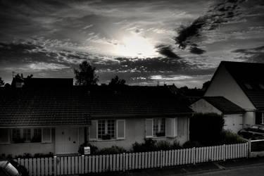 HDR - Cloudy Sunset 4 by GCsabai