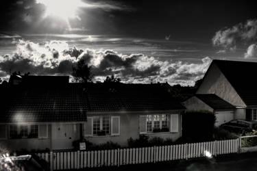 HDR - Cloudy Sunset 5 by GCsabai