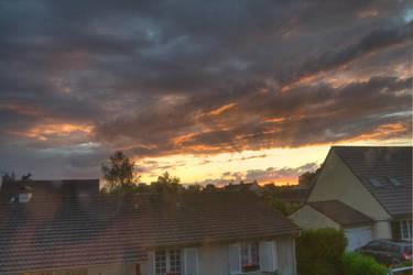 HDR - Cloudy Sunset 6 by GCsabai