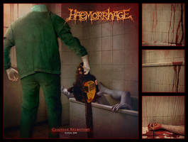 Haemorrhage - ''Chainsaw Necrotomy'' by DrWinter