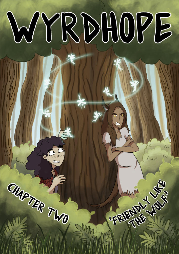 Wyrdhope - Chapter 2 - Cover by flailingmuse