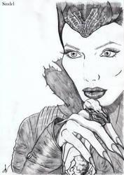 20140309  Maleficent by Ana-Archer