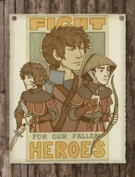 Our Fallen Heroes Colored by foxysquid