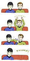 Trek: Nerve Pinch Vs. Yawn by foxysquid