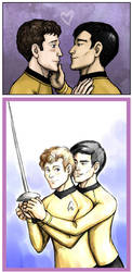 Sulu Loves Chekov by foxysquid