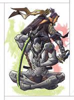 Dragons - Overwatch by IgorChakal