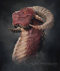 Albas Dragon by Kiriatus