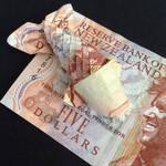 Origami Koi Fish with $5 NZD by aLALALAna