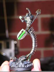 Necron 'Wraith' Lord by Calaith