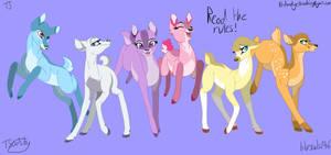 My Little Deer Base (read the rules!!!) by bluesouls246