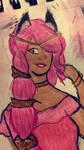 Princess Nana : Aphmau a Royal Tail COLORED by ThisClumsyArtist