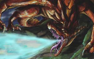 dragon fire by kimardt