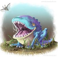 Frogdragon by kimardt