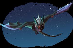 pokeddexy Day 8 - Flying type by kimardt