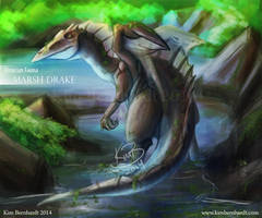 Almicia Fauna: Marsh Drake by kimardt